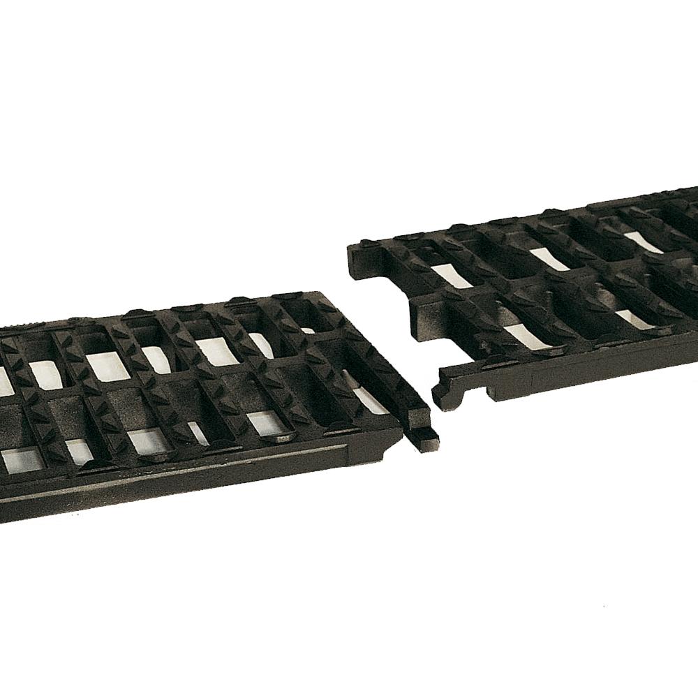 Grilles caniveaux AUTOLINEA ® C 250 et D 400 à chaînage elastique