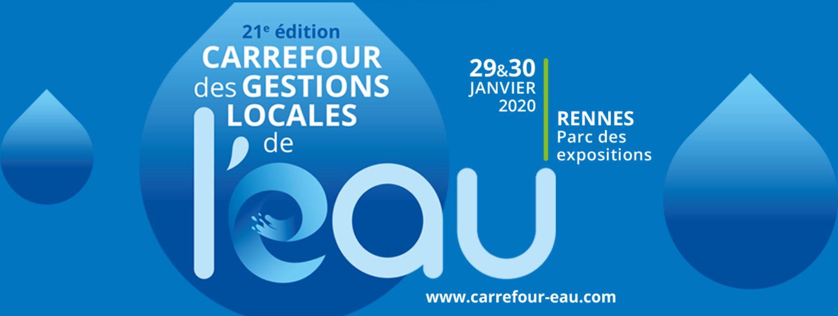 Carrefour de l'eau Rennes 2020