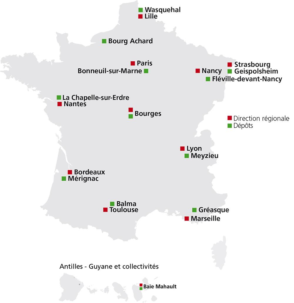 Saint-Gobain PAM en France