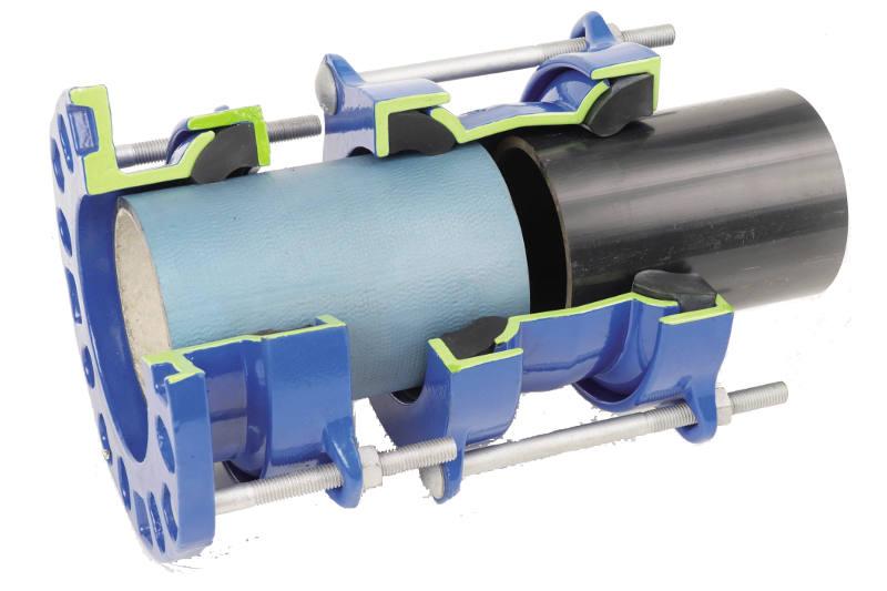 Montage sur tuyau, manchon, UltraLINK, fonte ductile
