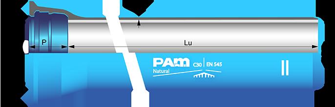 Dimensions canalisations en fonte ductile - Saint-Gobain PAM
