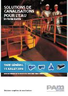 Couverture tarif général Eau 2016