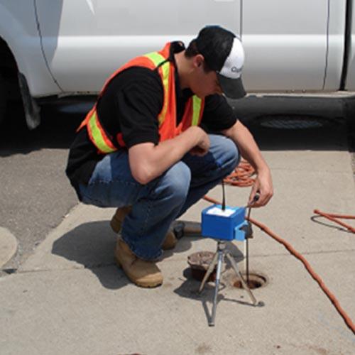 mesure epaisseur de paroi des tuyaux en fonte