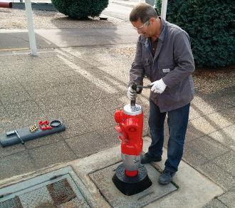 Maintenance poteaux et bouches d'incendie PAM Academy