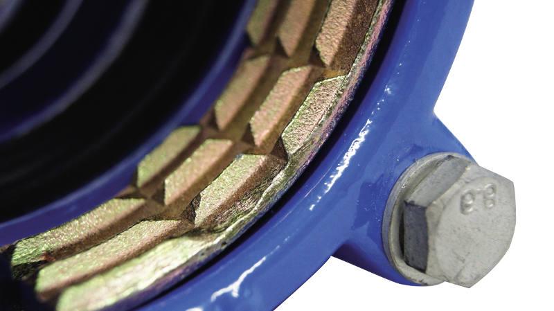 manchon, LINK PE, fonte ductile, verrouillé