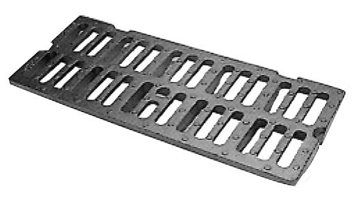 Grille MECALINEA pour traversée de bordures et trottoirs