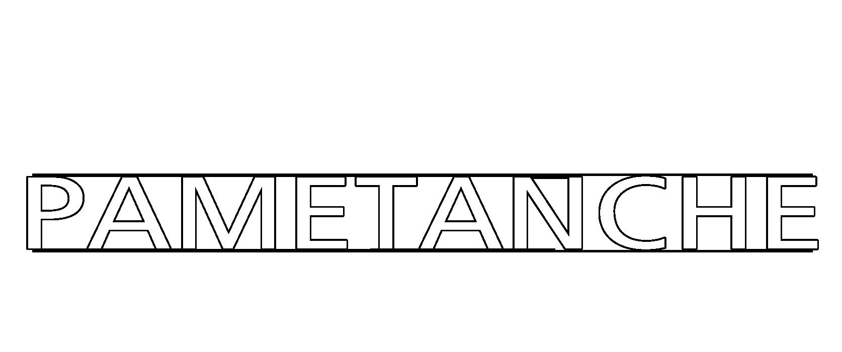 Logo de la gamme PAMETANCHE
