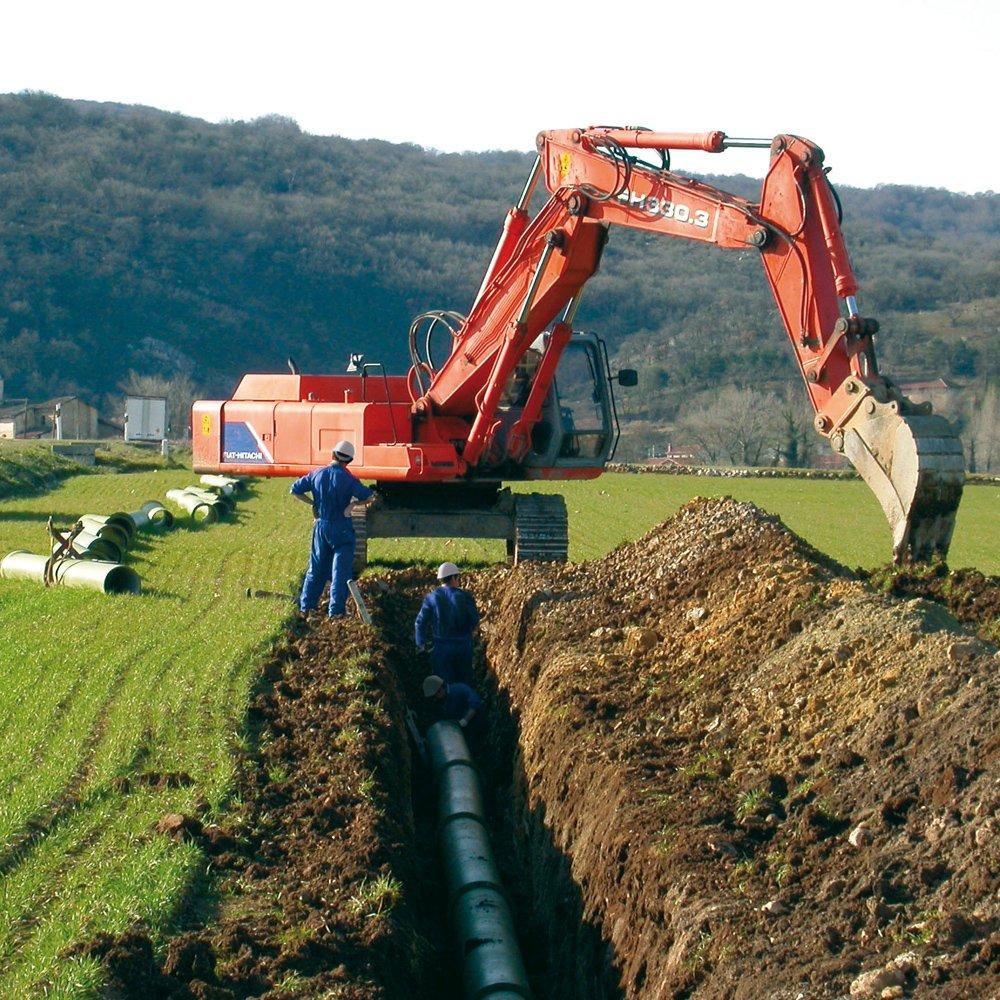 Services PAM - Assistance sur chantier Saint-Gobain PAM - canalisations en fonte ductile