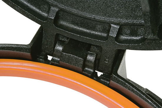 Regard de voirie en fonte D 400 de la gamme R-TEX ®