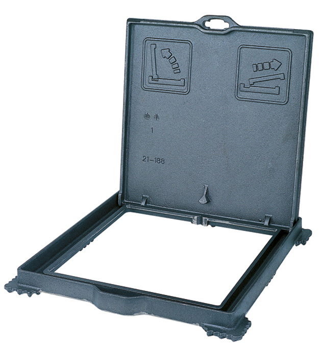 Regard hydraulique trottoir - Regard beton 60x60 ...