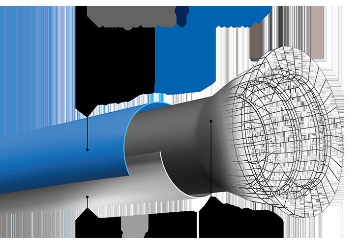 Zinalium : revêtement tuyau fonte ductile