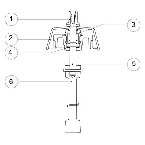 Notice de pose - Remplacement de la partie mécanique haute - Atlas,   Hermès, Ajax, Rationnel et Rationnel Plus - Version renversable (page du   livret R1 321)