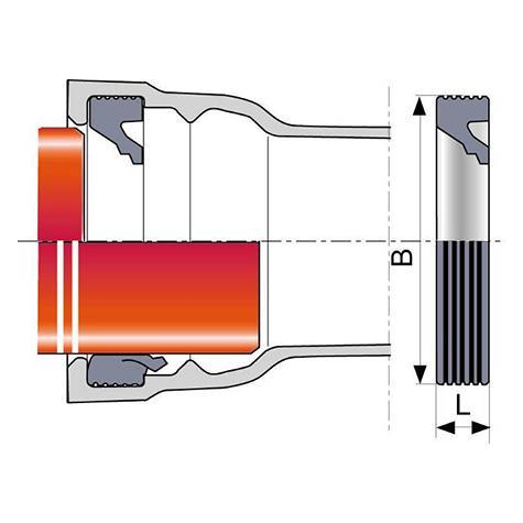 Bague de joint IM (TAG 32) pour tuyaux et raccords TAG 32 DN125-300