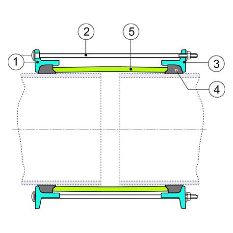 LINK GS PFA16 pour tuyaux fonte GS