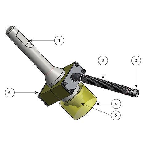 Accessoires pour le battage des pieux en fonte ductile