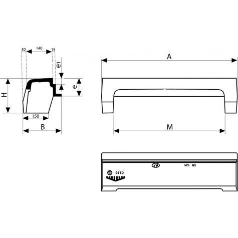 AVALOIR Profil T (1) Classe C250