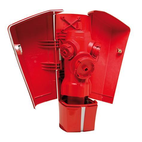Poteau d'incendie ELANCIO Renversable DN80-100 - Raccords symétriques