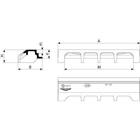 AVALOIR Profil A (1) Classe C250