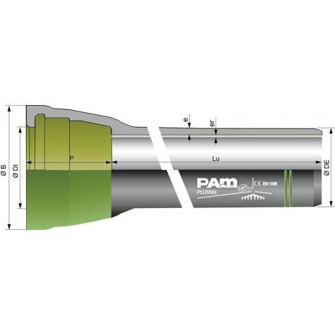 Tuyaux PLUVIAL® à joint Standard   DN1400-2000