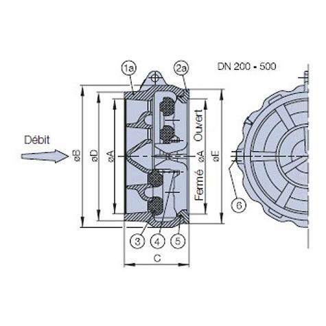 Clapet CLASAR version standard