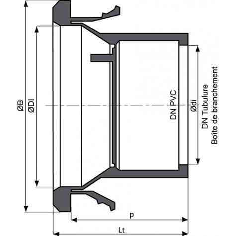Joint de Réduction pour boite de branchement TAG 32