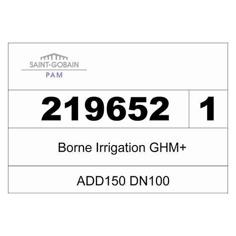 Borne ADD 150 GHM+ incongelable - DN100