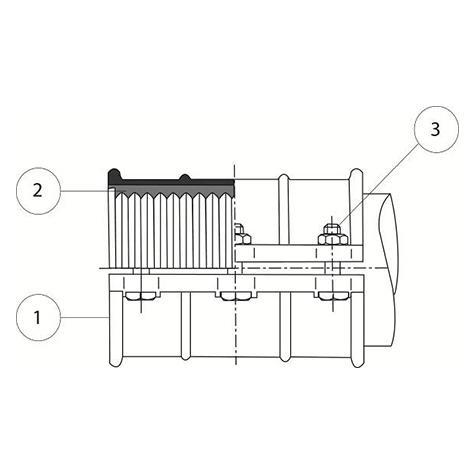 RepLINK - Manchon de réparation fonte