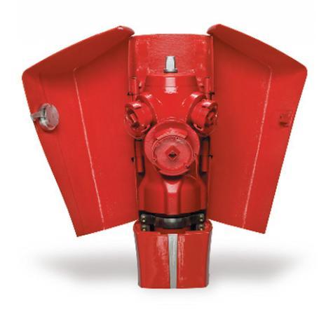 Poteau d'incendie ELANCIO Non Renversable DN80-100 - Raccords symétriques
