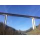 Viaduc de Bourran (Aveyron) - Chantier BLUTOP