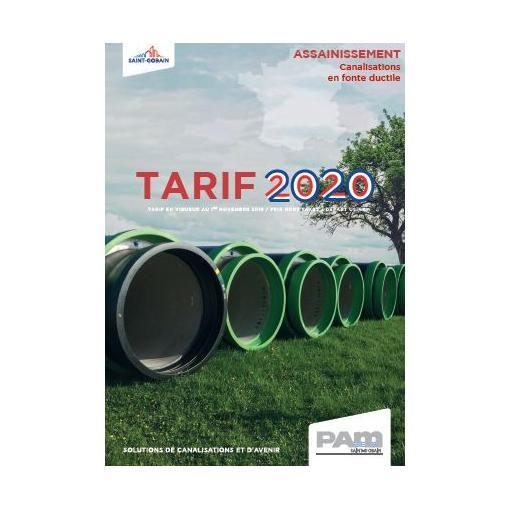 TARIF ASSAINISSEMENT 2020