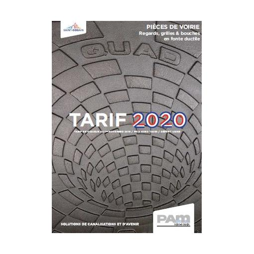 TARIF VOIRIE 2020
