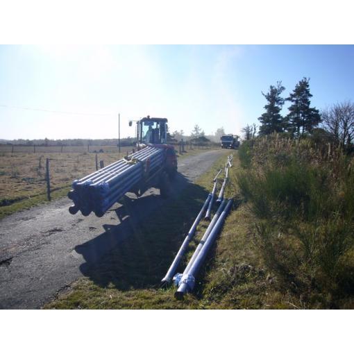 Chantier Blutop - canalisations en fonte ductile - Distribution Eau Potable - Saint-Gobain PAM