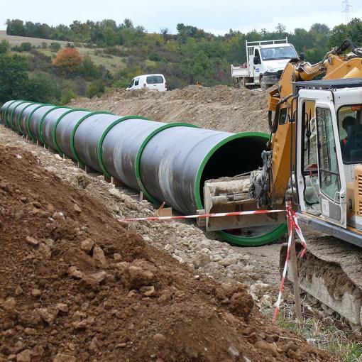 emboitement tuyaux eaux pluviales jonction verrouillée