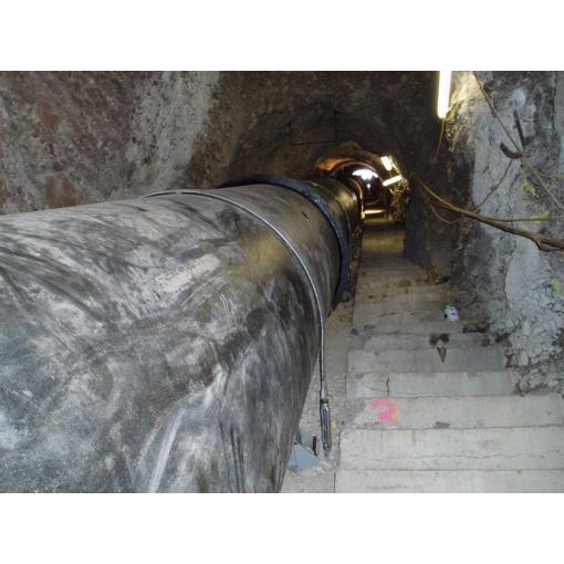 Pose en galerie - canalisations en fonte ductile - Saint-Gobain PAM
