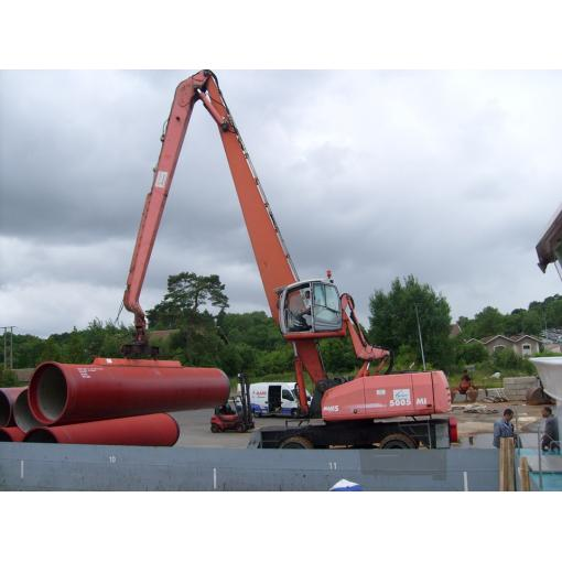 Transport fluvial tuyaux - Saint-Gobain PAM