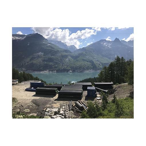 Commune de Tignes - Tuyaux en fonte ductile - Gammes PLUVIAL et NATURAL