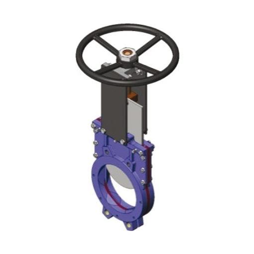 vanne guillotine sectionnement résea fonte