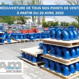 REOUVERTURE POINTS DE VENTE
