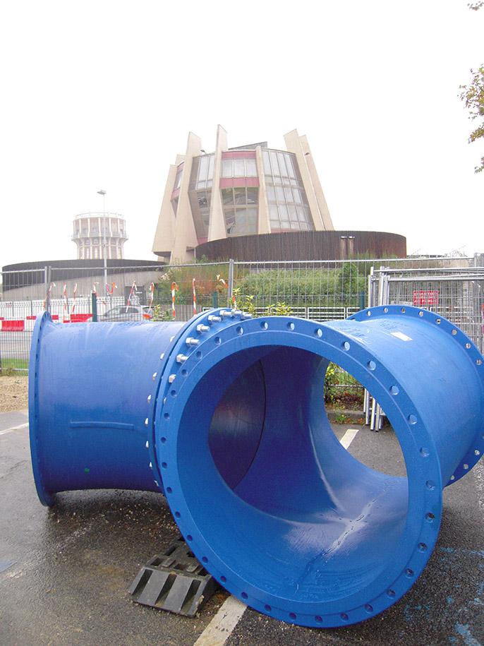 EUROSTOP - robinet à papillon - sectionnement - eau - Saint-Gobain PAM